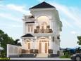 Mẫu biệt thự 2 tầng bán cổ điển đẹp tại Tiền Giang