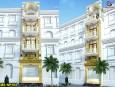 Mẫu thiết kế nhà phố 4 tầng 2 mặt tiền đẹp