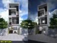 Nhà phố 3 tầng hiện đại đẹp tại quận 12