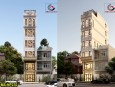 Mẫu thiết kế nhà phố 6 tầng đẹp hiện nay