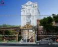 Mẫu thiết kế khách sạn đẹp 3 tầng tại Gia Lai