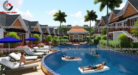 Mẫu thiết kế khu nghĩ dưỡng resort đẹp hoành tráng